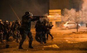 Polizei in Beirut geht mit Gummigeschossen gegen Demonstranten vor