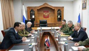 Treffen zwischen Putin und Assad am 7. Januar in Damaskus