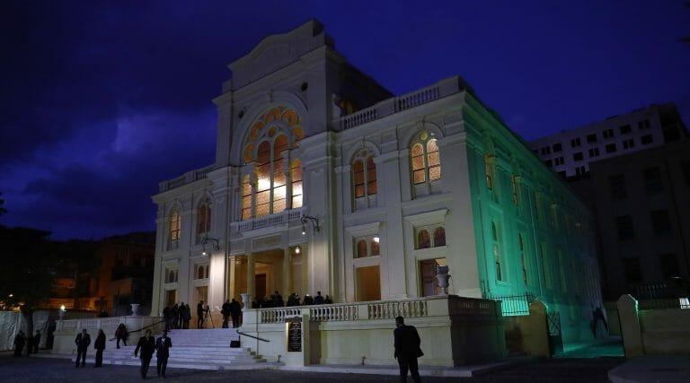 Die renovierte Eliyahu-HaNavi-Synagoge in Alexandria