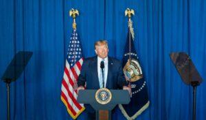 Präsdient Trump verkündet am 03.01.2020 die Tötung des Revolutionsgarden-Führers Soleimani