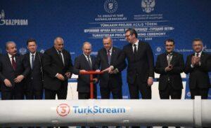 Erdogan und Putin bei der Eröffnung der TurkStream-Pipeline