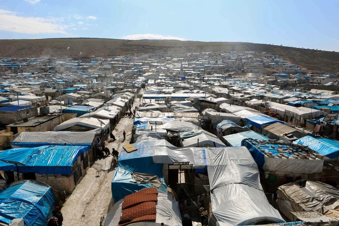 Flüchtlingslager Syrien