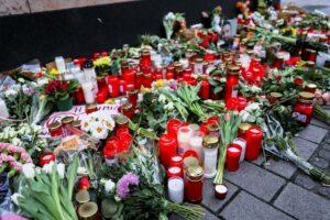Einer der Tatorte in Hanau, an dem u.a. Kurden ermordet wurden. (imago images/Patrick Scheiber)