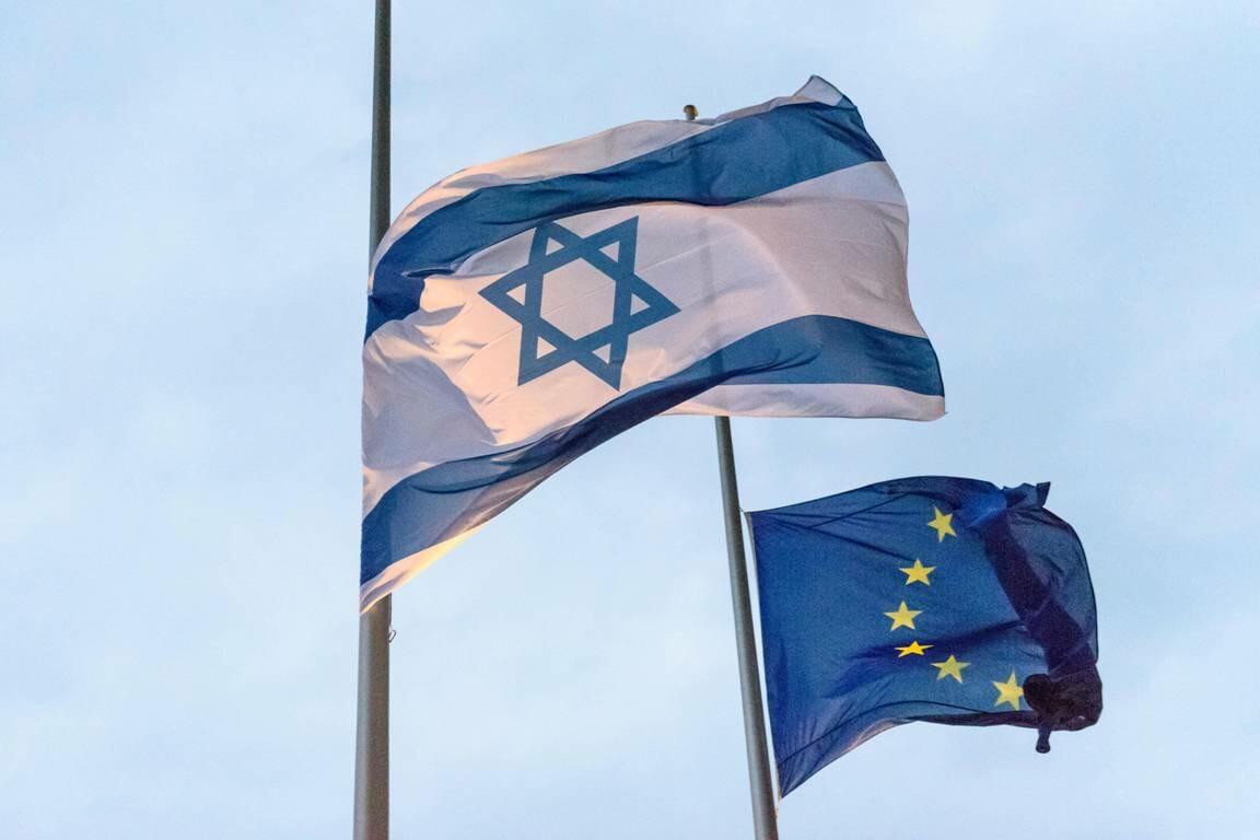 In der israelischen Öffentlichkeit steht die EU gar nicht gut da. (imago images/Christian Spicker)