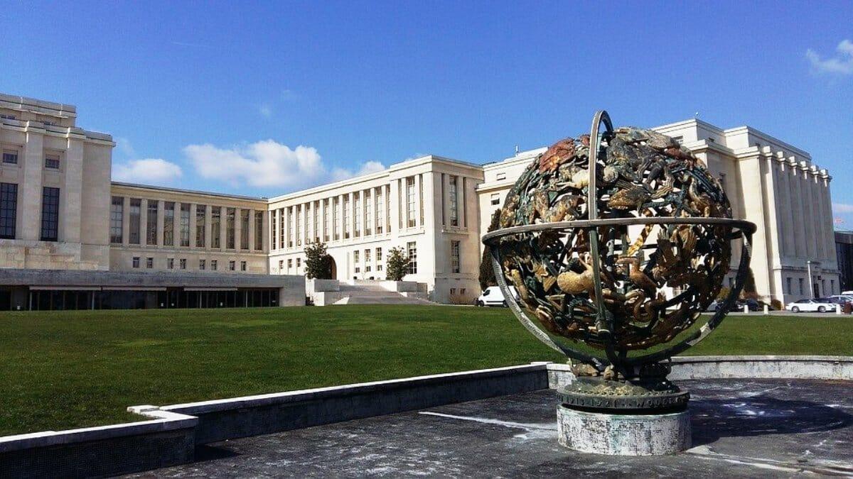 Der Sitz des UNO-Menschenrechtsrates in Genf (Quelle: Pixabay)