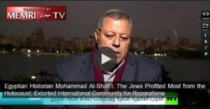 Der ägyptische Historiker Mohammad Al-Shafi'i