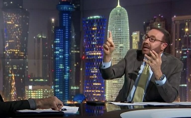 Der al-Jazeera-Moderator Faisal al-Qassem