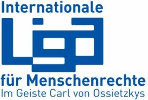 Logo der Internationalen Liga für Menschenrechte
