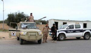 Soldaten der von Erdogan unterstützten Einheitsregierung in Libyen