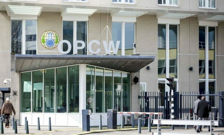"""Hauptquartier der """"Organisation für das Verbot chemischer Waffen"""" in Den Haag"""