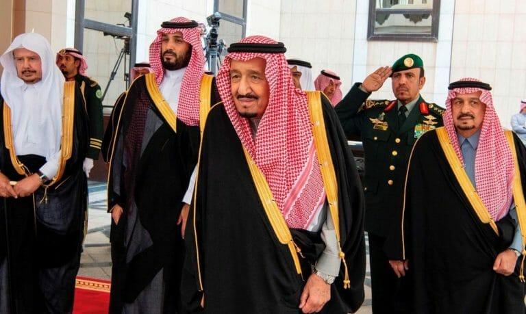 Saudi-Arabiens König Salman bin Abdulaziz und Kronprinz Mohammed bin Salman