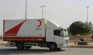 LKW des Türkischen Roten Halbmond