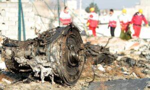 Absturzstelle des ukrainsichen Flugzeugs im Iran