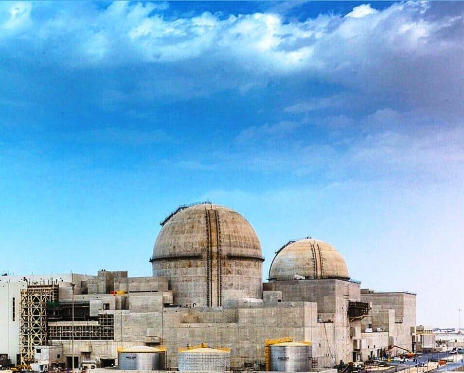 Das Atomkraftwerk von Barakah in den Vereinigten Arabischen Emiraten. (Wikiemirati/CC BY-SA 4.0)