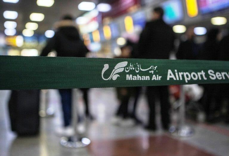 Die Fluglinie Mahan Air spielte bei der Verbreitung des Corona-Virus im Iran eine entscheidende Rolle. (imago images/Xinhua)