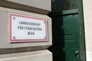 Verhandlungsort: Das Landesgericht für Strafsachen in Wien. (imago images/CHROMORANGE)
