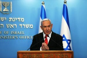 Wegen der Corona-Krise wurde der Auftakt des Prozesses gegen Netanjahu verschoben. (imago images/PanoramiC)