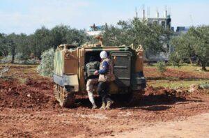 Militärische Präsenz der Türkei in Idlib (imago images/ZUMA Press)