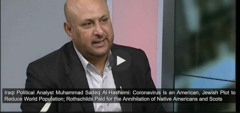 Der irakische Politologe Muhammad Sadeq Al-Hashemi
