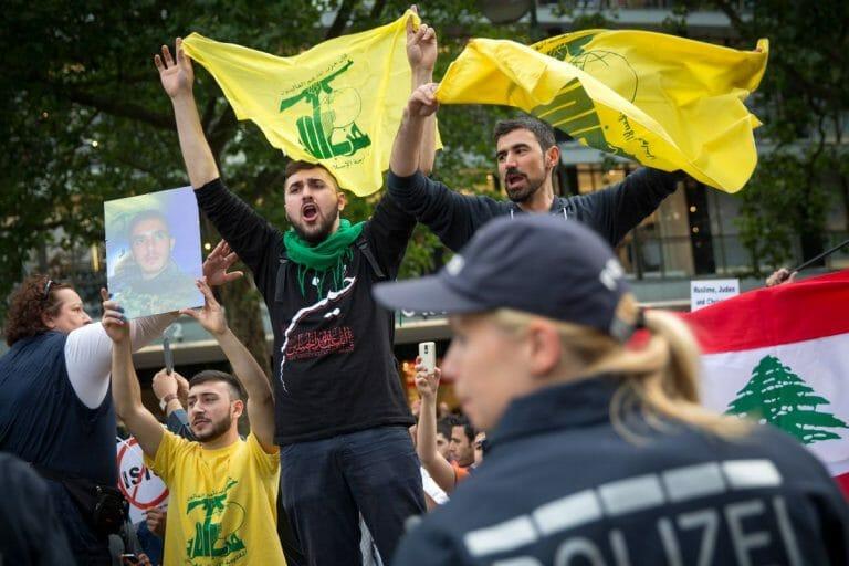 Al-Quds-Tag in Berlin: Aufmarsch von Hisbollah-Aktivisten
