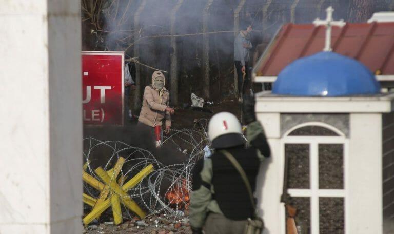 Ausschreitungen an türkisch-griechischer Grenze