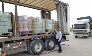 Israel lieferte 20 Tonnen Desinfektionsmittel an die Palästinenser