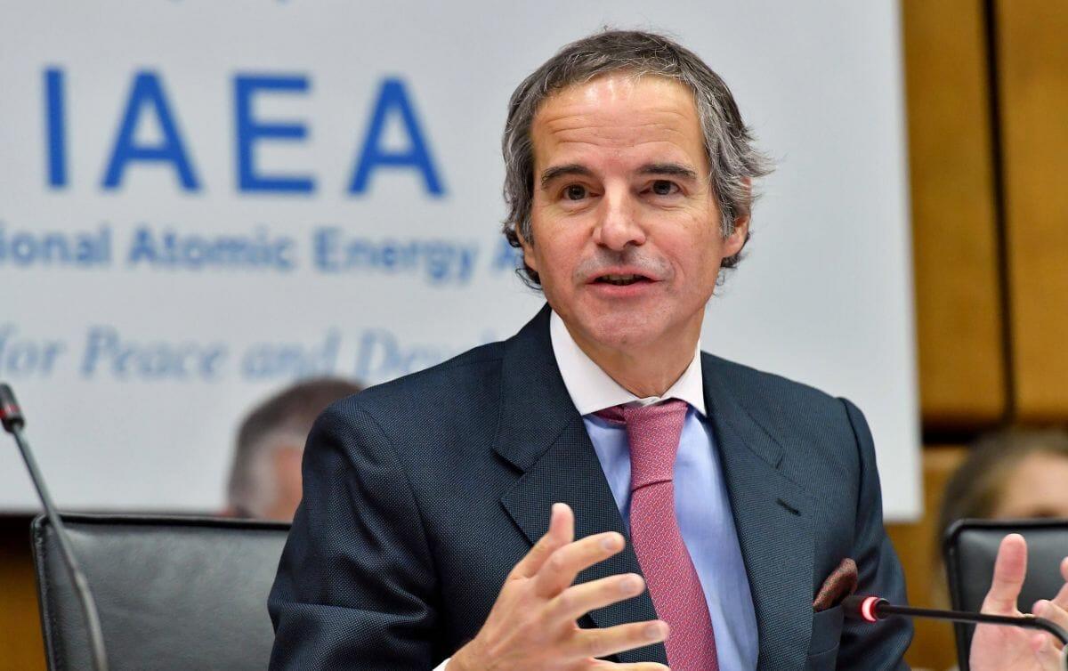 Am 10. März erklärt IAEO-Chef Rafael Grossi, dass es nichtgeklärte Fragen bezüglich Irans Atomprogramm gibt