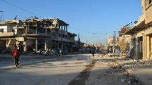 Zerstörung in Idlib nach russischen Luftangriffen