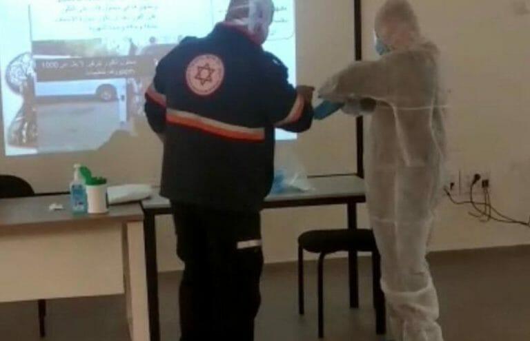 Israelische und palästinensische Teams arbeiten zusammen an der Bekämfung des Coronavirus