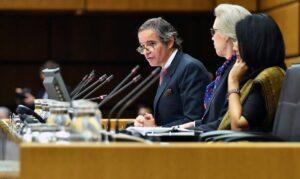 Leiter der UN-Atomaufsichtsbehörde Rafael Grossi fordert Iran zur Kooperation auf
