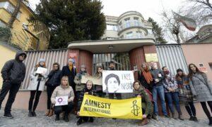 Demonstration für die Freilassung Nasrin Sotoudehs