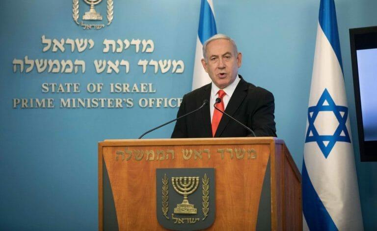 Netanyahu erklärt, dass Israel wegen Corona in den Notfallmodus versetzt wird