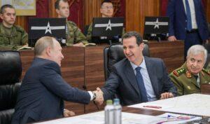 Der syrische Präsient Assad und sein russischer Verbündeter Vladimir Putin