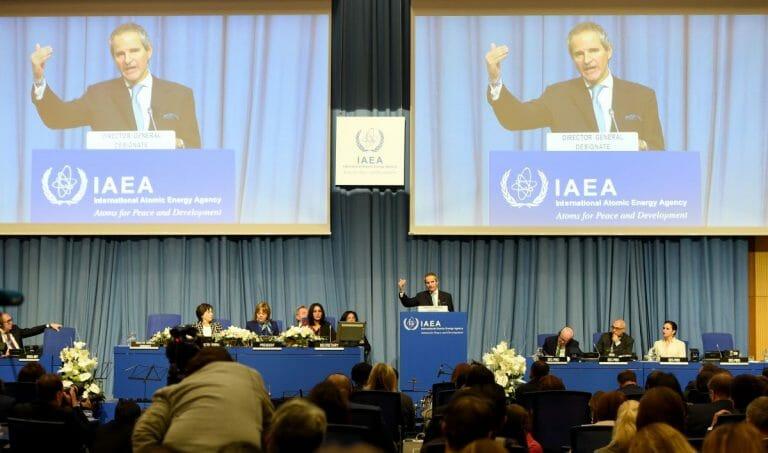 Der Generaldirektor der UN-Atomaufsichtsbehörde Rafael Grossi