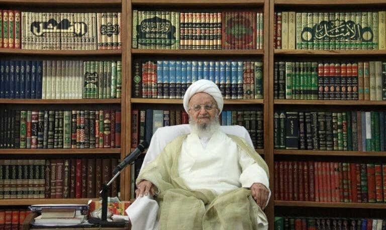 Der iranische Ayatollah Makarem Shirazi bestreitet, israelischen Corona-Impfstoff erlaubt zu haben
