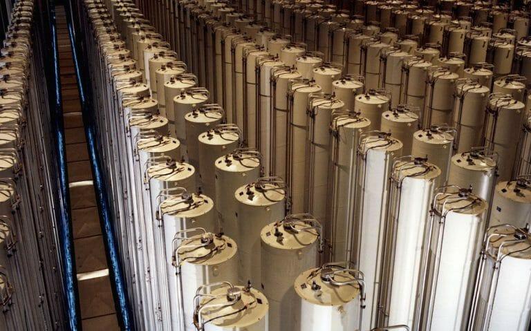 Zentrifugen zur Urananreicherung