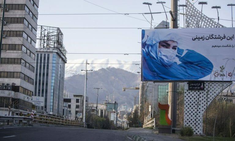Die WHO rechnet mit fünfmal so vielen Corona-Toten im Iran wie offiziell bestätigt