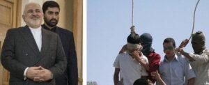 Irans Außenminister Zarif, zwei minderjährige Homosexuelle