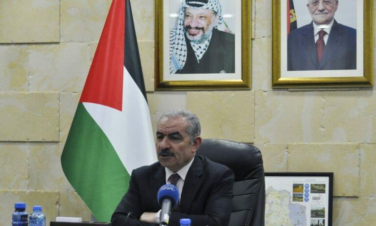 Der Premierminister der Palästinensischen Autonomiebehörde Muhammad Shtayyeh
