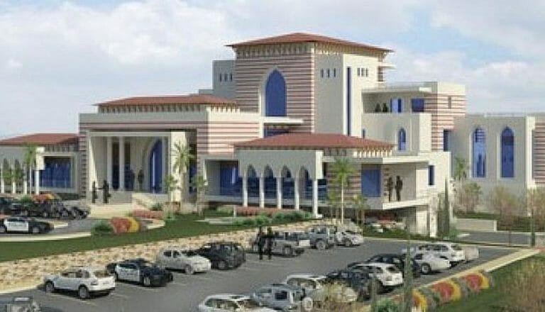 Die Villa von Mahmoud Abbas in Ramallah