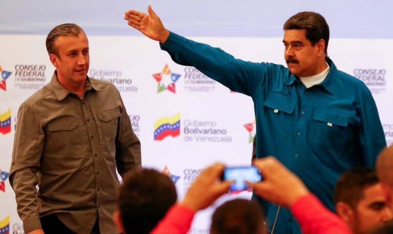 Tareck El-Aissami wurde von Nicolas Maduro zu Venezuelas neuem Ölminister ernannt