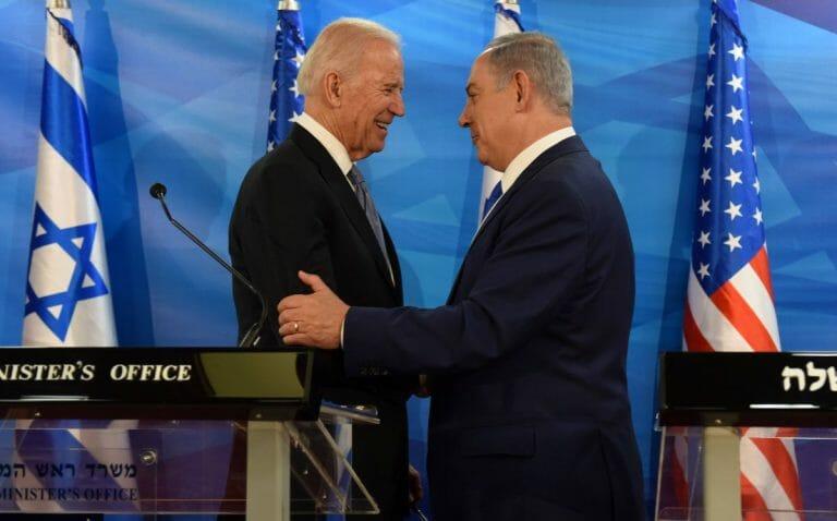 US-Präsidentschaftskandidat Biden und Israels Premier Netanjahu