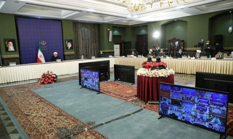 Regierungssitzung in Teheran