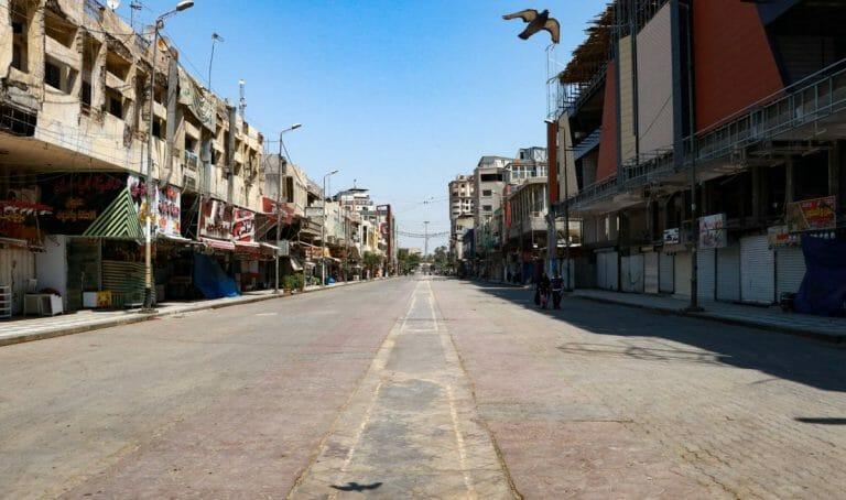 Auch im Irak herrschen Ausgangssperren wegen Corona