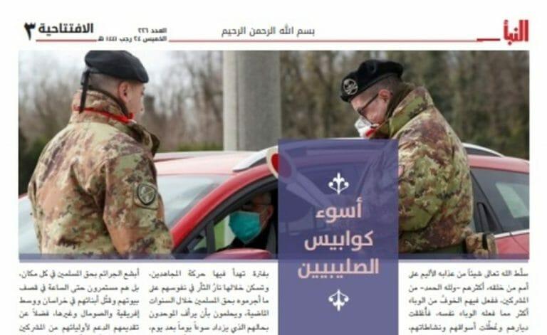 Der IS fordert seine Mtiglieder auf, das Corona-Chaos in Europa für Anschläge zu nutzen