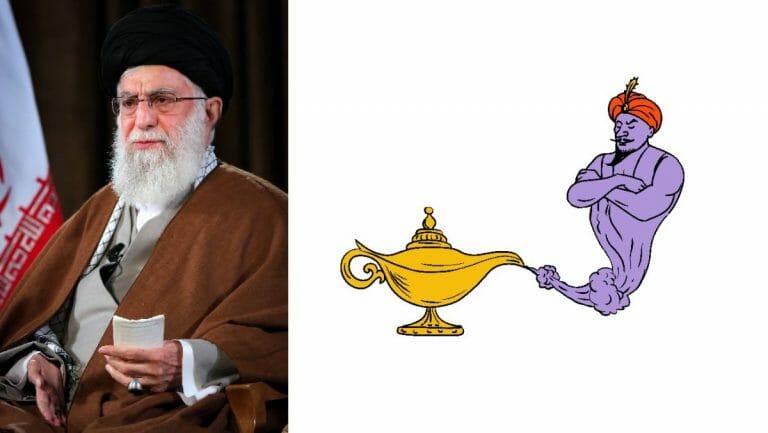 Khamenei mach Jinns für den Ausbruch von Corona im Iran verantwortlich