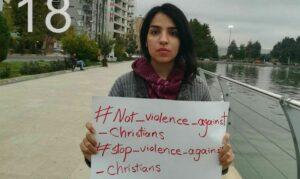 Die zum Christentum konvertierte Iranerin Mary Mohammadi