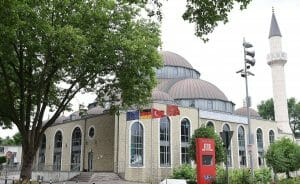 Auch die DITIB-Merkez-Moschee in Duisburg-Marxloh beteiligt sich an der Adhan-Aktion