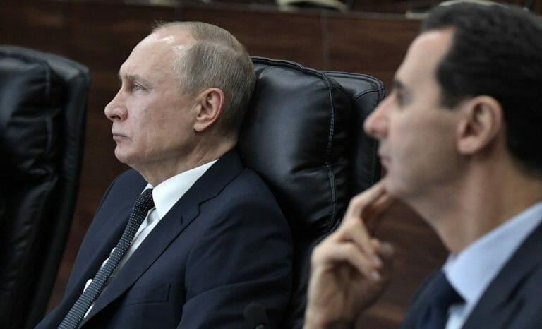 Wendet Putin sich gegen den syrischen Präsidenten Assad?