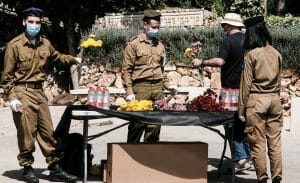 Dieses Jahr wurden besondere Maßnahmen für den Gedenktag und den Unabhägigkeitstag in Israel ergriffen
